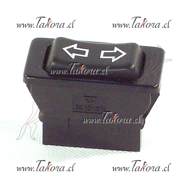 Switch tecla Alza Vidrio Inversor 12 24 Volts 5 termiinales